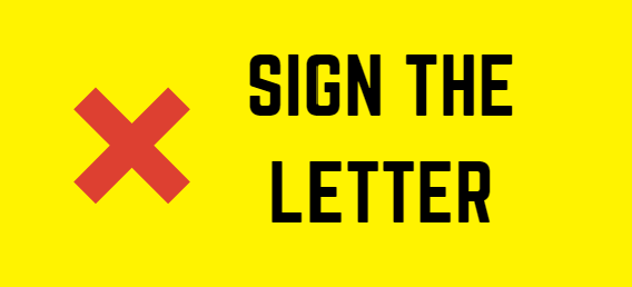Sign the letter