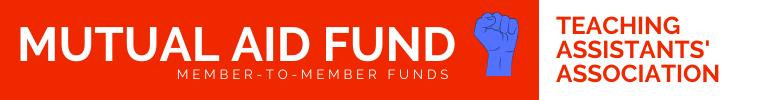 Mutual Aid Fund banner logo