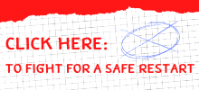 Link to a survey and pledge for a safe restart at UW–Madison